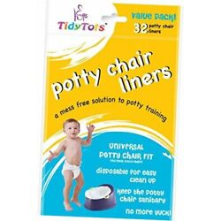 Kyпить TidyTots Disposable Potty Chair Liners - Value Pack - Universal Potty 1Pack на еВаy.соm