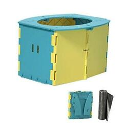 Kyпить  Travel Potty for Kids, Reusable Portable Folding Potty for Toddler, Yellow на еВаy.соm
