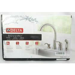 Kyпить Delta 11946-SSSD-DST Bellini Single Handle Kitchen Faucet, Stainless, NEW  на еВаy.соm