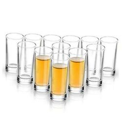 Kyпить  Shot Glass Set with Heavy Base, 1.2 oz (12 pack ) Clear Glasses for Whiskey  на еВаy.соm