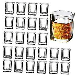 Kyпить Shot Glass Set with Heavy Base, 2-Ounce Square Shot Glasses, 24 Pack Clear  на еВаy.соm