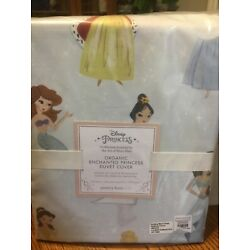 Kyпить Pottery Barn Kids Disney Organic Enchanted Princess Full/ Queen Duvet NWT на еВаy.соm