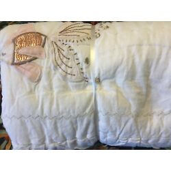 Kyпить Pottery Barn Kids Isabelle Castle Mermaid quilted Standard sham Embroidered NEW на еВаy.соm