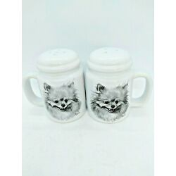 Kyпить NEW Pomeranian  Porcelain Salt & Pepper Shakers by Rosalinde by Vladimir USA на еВаy.соm