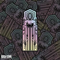 Tall Guardian Holographic Sticker