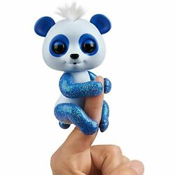 Kyпить WowWee Fingerlings Glitter Panda - Archie (Blue) - Interactive Collectible Baby на еВаy.соm