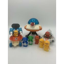 Kyпить Vintage Rare 1984 Lil Playmates Space Station Play-set Aliens Astronauts на еВаy.соm