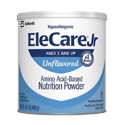 Ele Care Junior Unflavored (case of 6 -14.1oz cans Unflavored) Exp 1 March 2023