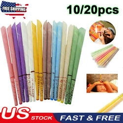 Kyпить 20Pcs Ear Wax Cleaner Removal Coning Fragrance Candles Healthy Hollow Clean USA* на еВаy.соm