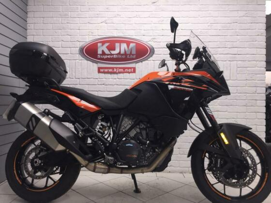 KTM 1090 ADVENTURE, 2019/69, JUST 5,059 MILES COVERED, TOP BOX AND SAT NAV