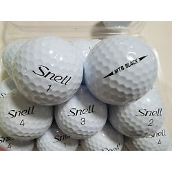 Kyпить 2 Dozen MTB Black Snell Golf Ball's Mint/AAAA  на еВаy.соm