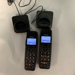 Kyпить Panasonic KX-TGEA20T DECT 6.0 With chargers 2X Cordless на еВаy.соm
