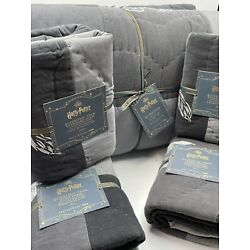 Kyпить Pottery Barn PB Teen Harry Potter Quidditch F/Q Quilt 2 Standard & 2 Euro Shams на еВаy.соm