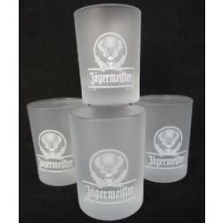 Kyпить JÄGERMEISTER frosted White Cross Stag  2cl/ra  SHOT GLASS ~ Set of 4 на еВаy.соm