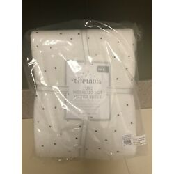 Kyпить Pottery Barn Kids Chamois Lux Metallic Dot Fitted Sheet - Full - NWT на еВаy.соm