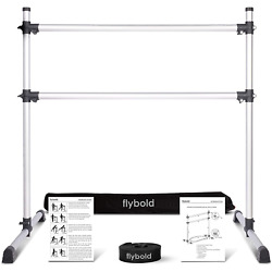 Ballet Barre Portable for Home Double Freestanding Ballet Bars 4  Height 29'' and