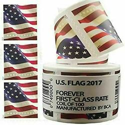 Kyпить 2017 USPS US Forever Flag Postage Stamps roll of 100 FAST FREE SHIPPING!  на еВаy.соm