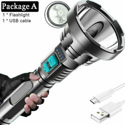 Kyпить Super Bright LED Flashlight Torch Tactical Rechargeable Built-in 18650 Battery на еВаy.соm