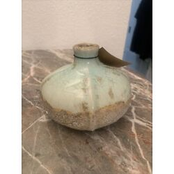 Creative Co-Op Round Terracotta Vases with Distressed Finish 2qt