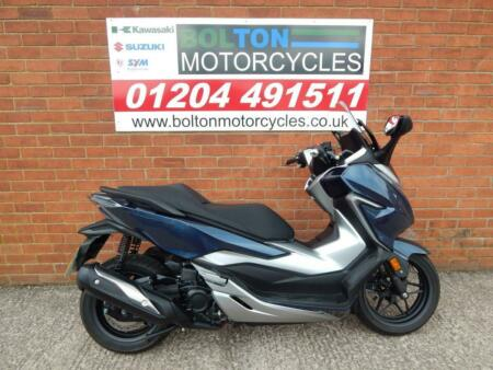 HONDA FORZA NSS 300 A-K ABS SCOOTER 2019 BLUE
