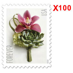 Kyпить 2020 USPS Forever Postage Stamps 100 Celebration Boutonniere 5 Panes USA Stamps на еВаy.соm