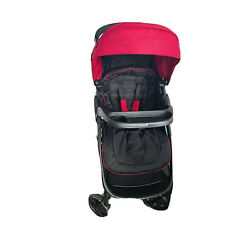 Kyпить Baby Stroller - Barely Used - Safety 1st - Black & Maroon - FoodTray - Sun Guard на еВаy.соm