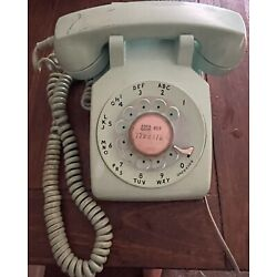 Kyпить Vintage Bell System MINT GREEN ROTARY DIAL TELEPHONE Automatic Desk Phone на еВаy.соm