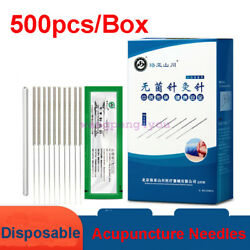 Wholesale Bulk Acupuncture Spring Handle Needles 500 5000 with guide tubes