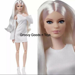 Barbie Signature The Looks Doll 2021 GXB28 #6 Tall Blonde Victoria Poseable new