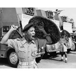 Singapore Police in Singapore 1964 OLD PHOTO