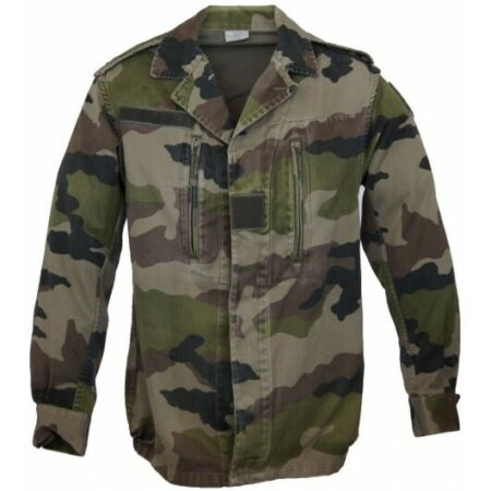 img-Jacket F2 French Army Size 88C (S) Camouflage Center Europa C/E Tie Dye
