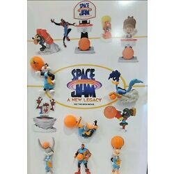 2021 MCDONALD'S SPACE JAM COMPLETE SET OF 12 TOYS. ALL NIP!! FREE SHIPPING!!