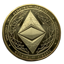 Ethereum CLASSIC Physical Crypto Coin