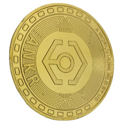 ANKR Gold Plated Physical Crypto Coin