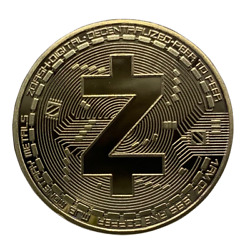 ZCASH Gold Plated Coin Miner Cryptocurrency