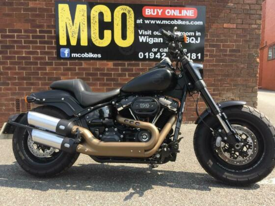 Harley-Davidson FXFBS Fat Bob 114 2018 with 5200 miles