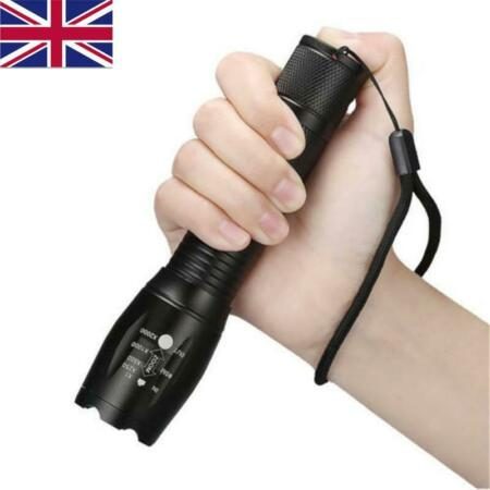 img-3x LED Police Flashlight T6 Tactical Military Zoom Camping Light