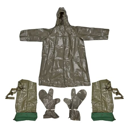 img-Poncho Army Original Czech Military Protection Waterproof Suit Glove Rain Cover