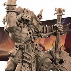 Diox the Metal Bard Dragonborn / Dungeons and Dragons Miniature / AoS Pathfinder