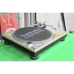 Technics SL-1200MK2 Silver Direct Drive DJ Turntable From Japan Used
