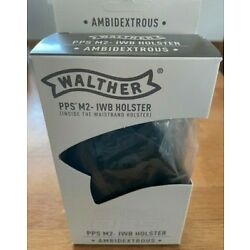 Walther PPS M2 IWB Holster Kydex Ambidextrous