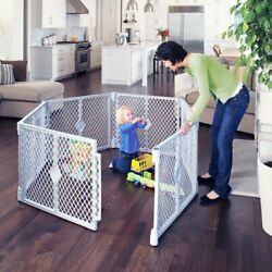 NEW Toddleroo by North States 6 Panel Superyard Portable Indoor Outdoor Playard