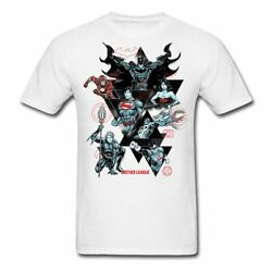 Justice League Character Collage Men's T-Shirt