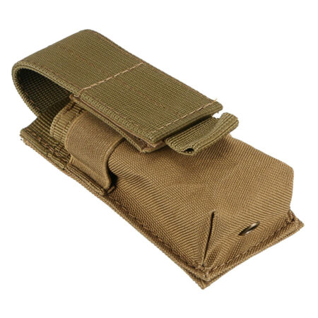 img-Waterproof Molle Flashlight Pouch Bag Hunting Holster Holder Black Travel