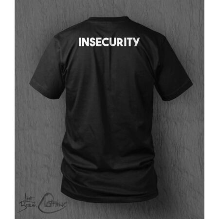 img-Insecurity T-shirt MEN'S Father's Day Stag Do Security T-Shirt Funny Parody Top