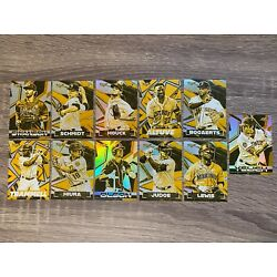 2021 TOPPS FIRE GOLD MINTED PARALLELS / PICK YOUR CARD