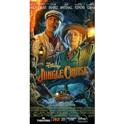 Jungle Cruise (2021) With Emily Blunt and The Rock! Great family fun Preorder