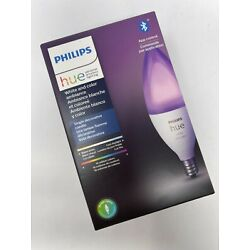 Philips Hue White & Color E12 LED 40W Equivalent Dimmable Candle Smart Lightbulb