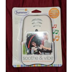 Summer Soothe and Vibe Portable Soother Vibration & Soothing Sounds Brand New