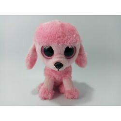 Ty Beanie Boo Boos Princess the Pink Poodle Plush 6